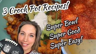Super Bowl 2020 🏈 | Game Day Snack Ideas 💡 | Crockpot Appetizers