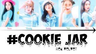 Red Velvet (레드벨벳)「#CookieJar」(Gaming Mix) Color Coded LyricsKanRomEng