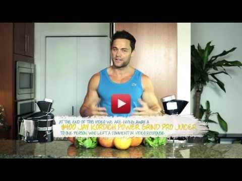 Video Super-Antioxidant Juice Recipe - Eliminate Free Radicals