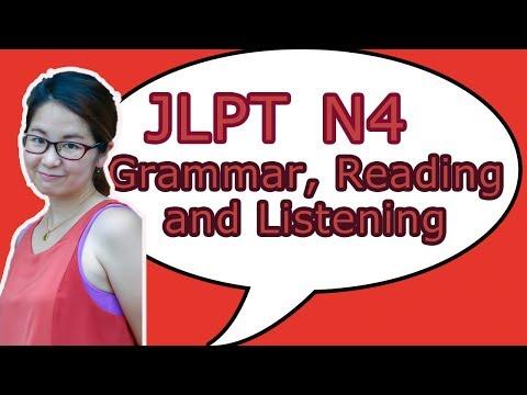 Download Jlpt Listening N4 Part 1 Video 3GP Mp4 FLV HD Mp3