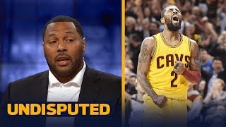 What is Kyrie Irving thinking? Eddie House on why it's a huge mistake for him to leave   UNDISPUTED