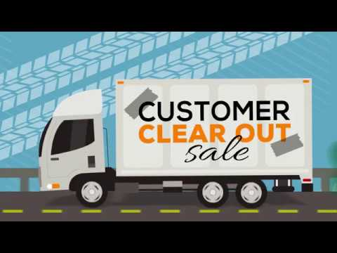 Customer Clear Out Sale