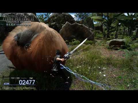 FINAL FANTASY XV WINDOWS EDITION ( FREE ROAM PC ) Benchmark BUG