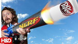 SUPER POWER NERF MOD!! (This Nerf Shoots Random Things)