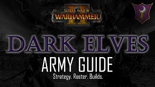 DARK ELVES ARMY GUIDE! - Total War: Warhammer 2