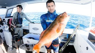 Insane Afternoon And Night Camping On Our Boat Spearfishing And Fishing - Ep 60 Part 2