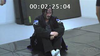 Keanu Reeves  John Wick Fight Scene Choreography Training