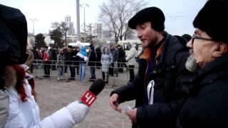 """интервью после митинга: """"Путин - геть!"""""""