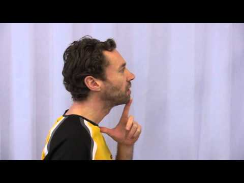 Baking Schmerzen im Bereich der Halswirbelsäule