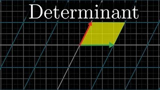The determinant  Essence of linear algebra, chapter 5