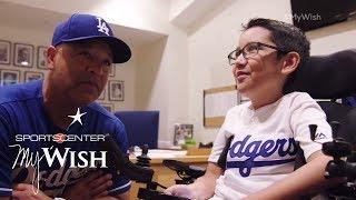 Ziggy Manages The Dodgers | My Wish | ESPN Stories