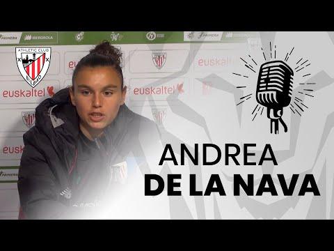 🎙️  Andrea De la Nava I post Athletic Club 3-0 EDF Logroño I J11 Primera Iberdrola