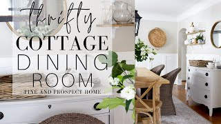 Thrifty Cottage Dining Room Refresh