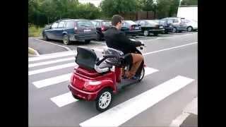 Tricicleta Electrica Adulti - 2 Locuri/persoane