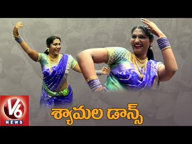 Jogini Shyamala Teenmaar Dance At Lashkar Bonalu Secunderabad