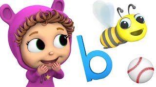 Phonics Letter B | Learn ABCs | Letter Recognition