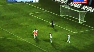 World football stars play in Grozny