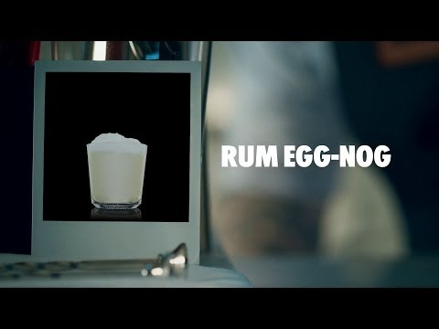 Video RUM EGG-NOG DRINK RECIPE - HOW TO MIX