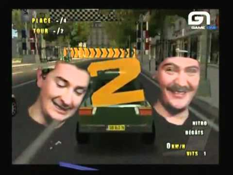 Paris-Marseille Racing Playstation