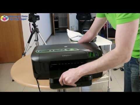 Hp Officejet Pro 8100 primer contacto, instalación y puesta en marcha