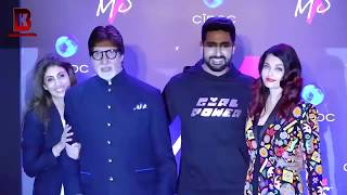 Aishwarya Rai, Abhishek, Shweta, Amitabh Bachchan, Jaya Arrives At LAUNCH OF LABEL MXS