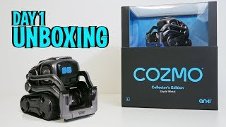Unboxing COZMO - Collector's Edition -  Anki's New Cute Metal Robot (FULL REVIEW!)