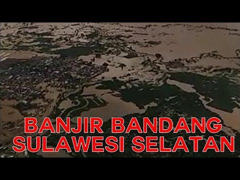 Video Detik-Detik Banjir Bandang Terjang Makassar dan Beberapa Kabupaten di Sulsel
