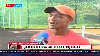 Juhudi za mchezaji wa tenisi Albert Njogu anayetokea Kibera | #ZilizalaViwanjani