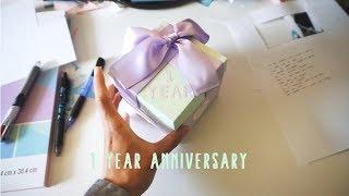 Girlfriends 1 Year Anniversary Gifts!!! (DIY Exploding Box)