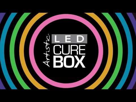 Artistic LED Cure Box
