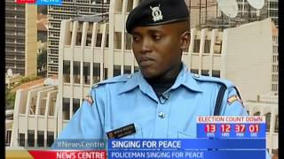 Singing for Peace: Policeman, Benson Mureithi leading peace mission