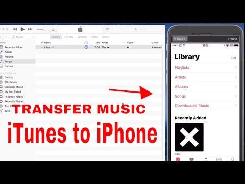 ♫ ♫ How to Transfer Music From iTunes to iPhone, iPad ♫ ♫ (2019)