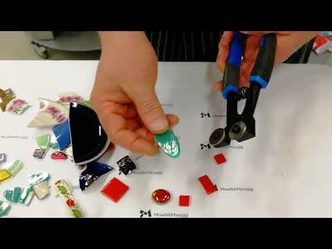 How to use mosaic pliers (Video)
