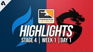 Dallas Fuel vs Shanghai Dragons   Overwatch League Highlights OWL Stage 4 Week 1 Day 1   Kholo.pk