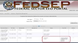 How Do I Submit My Report to EEOC When Using a Pre-approved XML File?