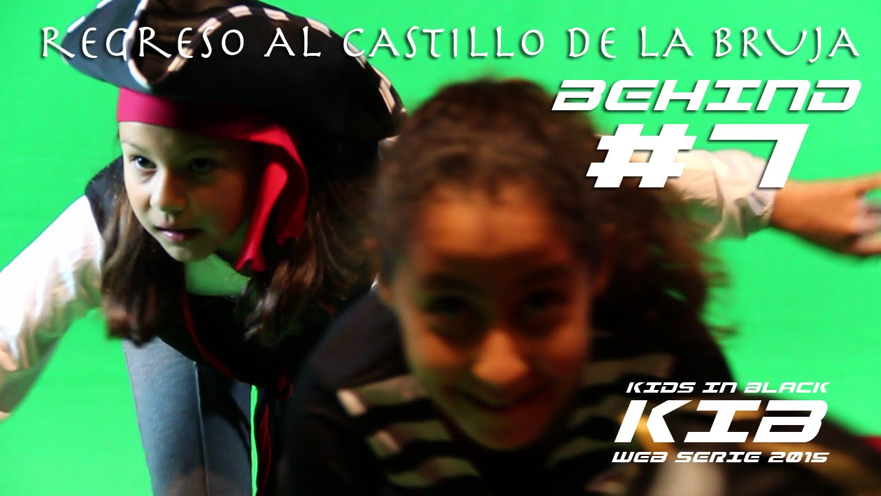 Regreso al Castillo de la Bruja - Kids In Black 2015 - Detrás de las cámaras #7