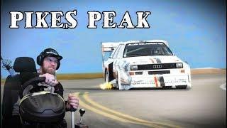 Dirt Rally - Pikes Peak на Audi Quattro