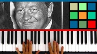 """How To Play """"The Christmas Song"""" Piano Tutorial / Sheet Music (Mel Torme and Robert Wells)"""