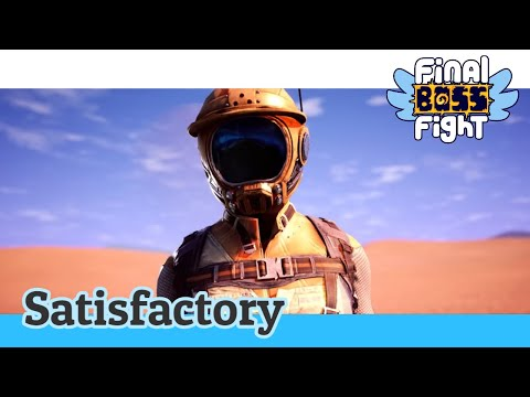 Video thumbnail for It's CHHRIMAH – Satisfactory – Final Boss Fight Live