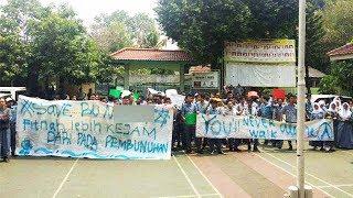 Bela Gurunya yang Diduga Doktrin Anti-Jokowi, Siswa SMAN 87 Jakarta Demo: Kami Kecewa