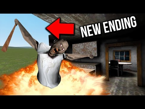 I DESTROYED Granny's House in Granny Horror Game MULTIPLAYER! (Granny Mobile Horror Game Escape) (видео)