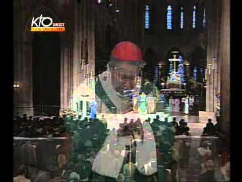 Messe à Notre Dame de Paris