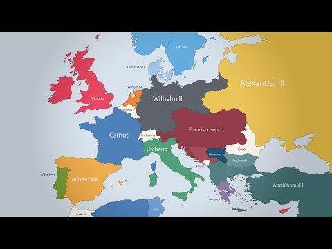 La Cartina Europa.La Mappa Che Mostra Tutti I Sovrani Europei Dal 400 A C Fino A Oggi Hello World