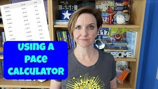 HOW TO USE A PACE CALCULATOR