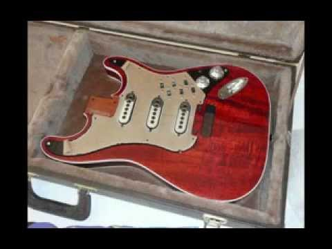 Brian May-style Strat build.