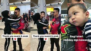 Hairul Azreen & Yusuf Iskandar Hantar Hanis Zalikha Nak Pergi Holiday Dengan Kawan2