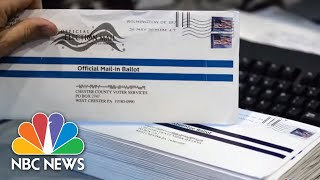 Postmaster General DeJoy Commits To Delivering Ballots On Time | NBC News NOW