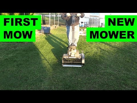 First Reel mowing with the Swardman Edwin 2 0 (at 3/4in