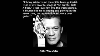 """JOHNNY WINTER feat. BEN HARPER - """"Can't Hold Out (Talk To Me Baby)"""""""
