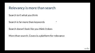 Regardez cette rediffusion du webinaire avec Dan Cruickshank de Fishtank Consulting et avec Mark Floisand de Coveo pour apprendre comment vous pouvez utiliser Sitecore et Coveo ensemble pour aider vos clients à développer des intranets plus intelligents et commencer à transformer leur lieu de travail numérique en espace intelligent.